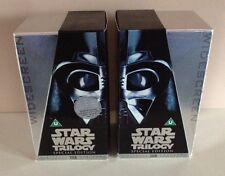 1 X STAR WARS TRILOGY SILVER SPECIAL EDITION BOXED ON VIDEO VHS - LAST ONES !!