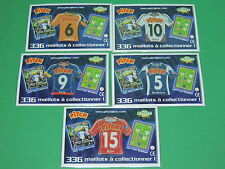 Magnet equipe Coupe de France Just Foot Pitch 2009 maillot football CDF lot #37