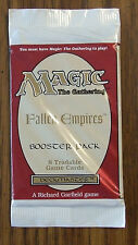 Magic the Gathering MTG Fallen Empires Booster Pack (1) 1994 Never Opened