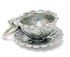Vintage Plata en movimiento tú eres mi taza de té encanto