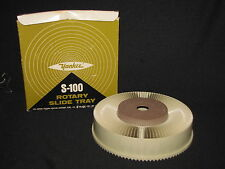 Vintage S-100 Rotary Slide Tray Holds 100 2x2 Inch Slides For Projector