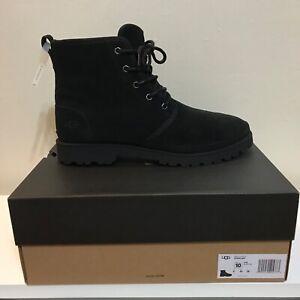 UGG Australia Boots Harland Black TNL Men's SZ 10 NWB 1106671