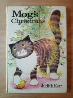 1ST UK EDITION of MOG'S CHRISTMAS. JUDITH KERR (THE TIGER WHO CAME TO TEA) FIRST