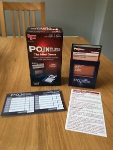 Pointless Travel Game New Edition University Games Family Fun