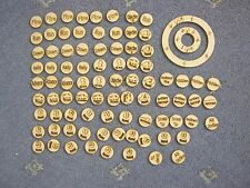 25mm Bolt Action Tokens & Templates for 2nd Edition Warlord Games 28mm Game