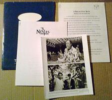 Press kit~ 3 NINJAS KICK BACK ~Victor Wong~Max Elliott Slade~Charles T Kanganis