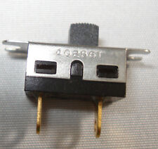 CHICAGO SWITCH Micro-Miniature Slide, SPST, Panel Ears Mount, 13mm-FREE SHIPPING