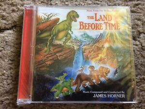 THE LAND BEFORE TIME James Horner LIMITED Intrada release of the expanded score
