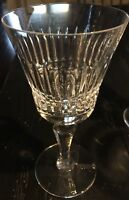 Vnt Lg Wine / Water Lead CRYSTAL Glass ROYAL DOULTON Vanborough England *