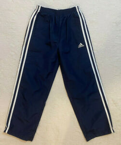 NWOT Boys Kids Adidas Wind Sport Athletic Track Lined Pants Size 7