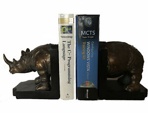 Vivense Heavy Durable Resin Horse Home Library Decorative Bookends