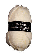 Chunky Knitting Wool Woolcraft 100% Acrylic 22 Shades Available - £2.99 max post