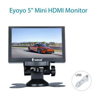 S501H 5 Inch HDMI Monitor LCD Display support AV BNC VGA Ypbpr for Education and