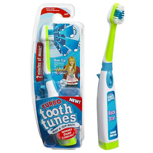 "Turbo Tooth Tunes Toothbrush Hannah Montana Sings ""ROCK STAR"" NEW ORIGINAL 2007"