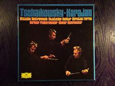 TCHAIKOVSKY VON KARAJAN BOX 6 LP'S DGG STEREO GERMANY/UK MINT AS NEW !