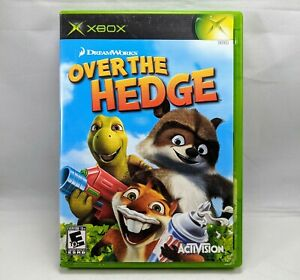 Over the Hedge (Microsoft Xbox, 2006) Complete W/ Manual Tested