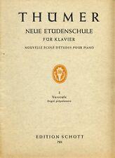 Notenheft THÜMER Neue Etüdenschule für Klavier