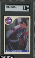 1985-86 O-Pee-Chee OPC #109 Dale Hawerchuk Jets HOF SGC 10 CENTERED