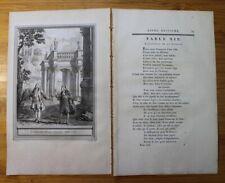 Oudry, La Fontaine, L'AVANTAGE DE LA SCIENCE Fable 161