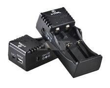 Xtar WP2 II NEW- Ladegerät für Li-Ion. Akkus incl. KFZ Adapter