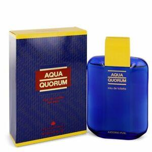 Aqua Quorum by Antonio Puig 3.4 oz Eau De Toilette for Men