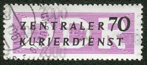 DDR ZKD Mi.-Nr.13 mit Kontrollnummer 7000 -Magdeburg (MICHEL € 65,00) pracht