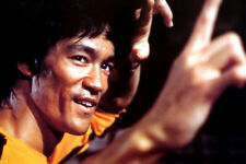 Stampa incorniciata-Bruce Lee (Arti Marziali MMA FOTO POSTER Combattimento Lotta ART)