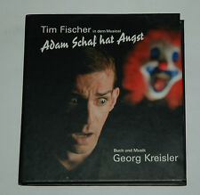 CD/TIM FISCHER/MUSICAL/ADAM HAT ANGST/GEORG KREISLER/Buch-Cover 88697044612