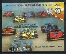 Mauritania 1982 Mi. Bl.34 Foglietto 100% Gran Premio di Francia ** nel 1979.