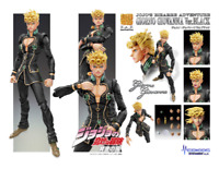 Giorno Giovanna Ver.BLACK action figure JOJO Super Action Statue MEDICOS 150mm