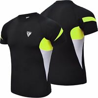 RDX MMA Rash Guard Compression Shirt Gym Training Baselayer Weight Loss US