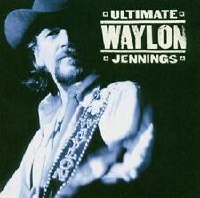 """WAYLON JENNINGS """"ULTIMATE WAYLON JENNINGS"""" CD NEUWARE"""