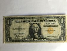 1935 A US $1 Dollar North Africa Note Bill Yellow Seal Emergency Note FR 2306