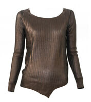 LiuJo Fashion Maglia Donna Col Marrone tg varie | -61 % OCCASIONE |