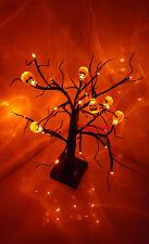 24 Orange LED Light Up Pumpkin Tree Party Prop TABLE- WINDOW-DECOR