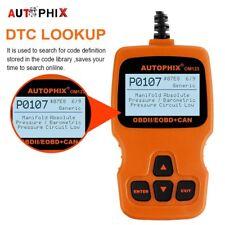 OM123 Auto Scanner Tool OBD2 Car Engine Check Code Reader Diagnostic Scan Tools