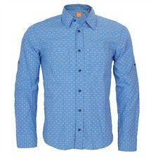 Karierte bequem sitzende Herren-Freizeithemden & -Shirts HUGO BOSS