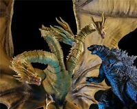 King Godzilla & Ghidrah PVC Action Figure Collectible Toy Model with Box 6-12''