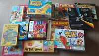 Board games job lot bundle!! TWISTER, MOUSE TRAP KERPLUNK and more!