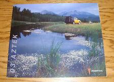 Original 2003 Pontiac Aztek Deluxe Sales Brochure 03