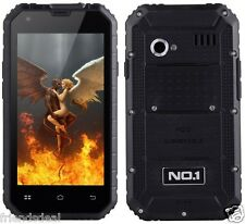 FAULTY Black NO.1 M2 Unlocked Dual Sim Smartphone Android Rugged Waterproof IP68