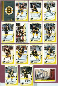 1989-90 PANINI STICKERS FOIL NHL HOCKEY CARD 188 TO 384 SEE LIST