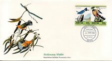 ENVELOPPE / BIRDS OF THE WORLD /  / FAUNE /  OISEAU / NEVIS / 1985