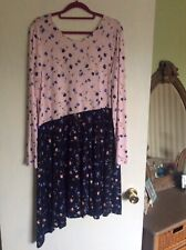 Pretty Asos Flower Patterned Dress Size 14 NWT