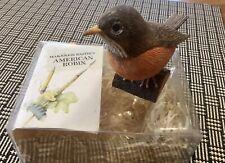 Hallmark Marjolein Bastin's Birds At My Window American Robin in box