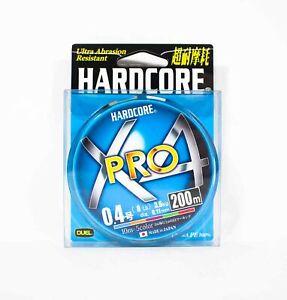 Yo Zuri Duel P.E Line Hardcore X4 Pro 200m P.E 0.4 3.6Kg (0.11mm) 5C H3871