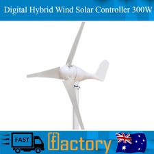Wind Turbine Generator Three Blade virtual Hybrid Wind Solar Controller 300W