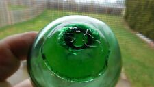 Vintage Genuine Glass Float W/ Mark On Seal Button Wp #239