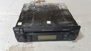 MERCEDES BENZ SLK R170 AUTORADIO LETTORE AUDIO CD 10 STEREO RDS FM A1708200386