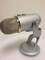 Blue Microphones Yeti Professional USB Condenser Microphone - Sliver